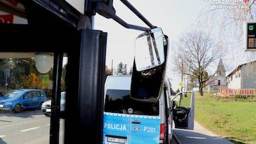 Autobus komunikacji miejskiej prowadził pijany kierowca