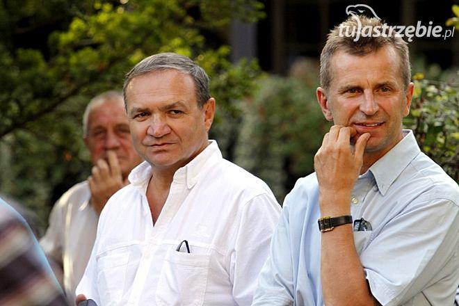Od prawej: Andrzej Frysztacki i Kazimierz Szynal