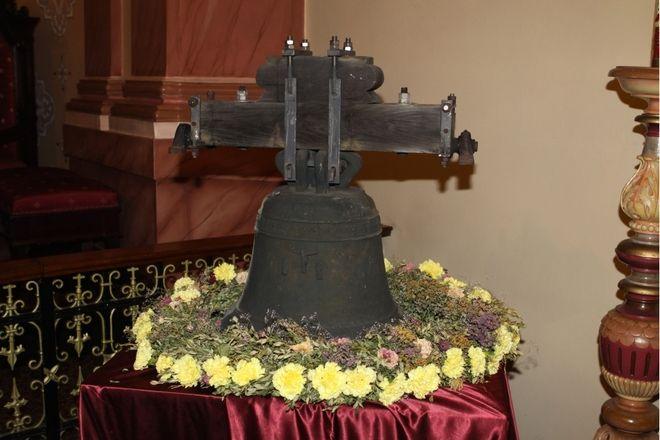 Zagrabiony dzwon jest już w Szerokiej, Robert Cebula