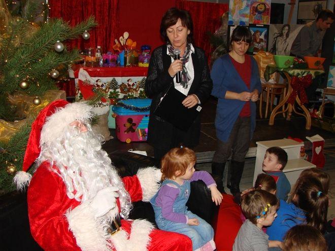 Wizyta Mikołaja w bibliotece stała się już tradycją