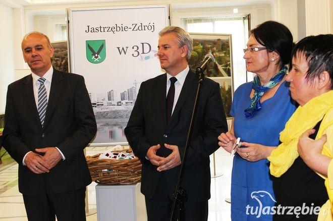 Otwarcia wystawy dokonał wicemarszałek Sejmu, Cezary Grabarczyk