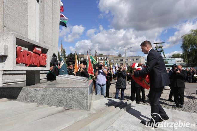 Uroczyście obchodzono 33. rocznicę Porozumienia Jastrzębskiego, Dominik Gajda