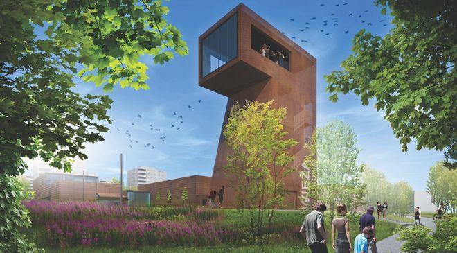 Tak może wyglądać wieża widokowa przy Domu Solidarności