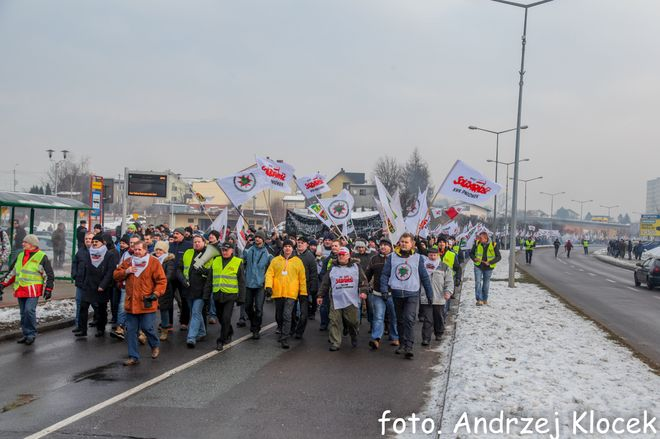 """Strajk w JSW oficjalnie dobiegł końca. Związki wyliczają """"grzechy"""" zarządu, Andrzej Klocek"""