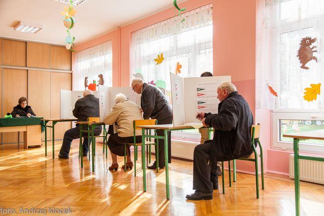 17.00 Frekwencja w Jastrzębiu wyższa niż w całym kraju, Andrzej Klocek