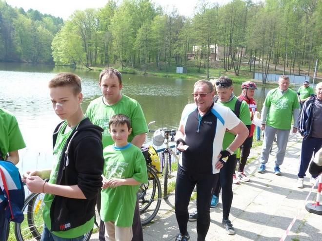 W X Rodzinnym Rajdzie Rowerowym ''Pierwszy Dzwonek'' wzięło udział ponad 180 cyklistów