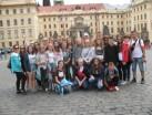 Młodzież z Gimnazjum nr 8 na wycieczce w Kotlinie Kłodzkiej oraz Pradze
