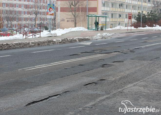 Tak ul. Cieszyńska wyglądała zimą