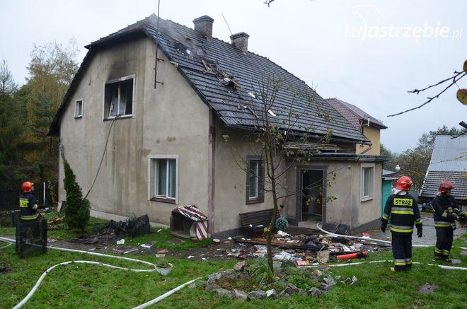 Jastrzębie, Pszczyńska: pożar domu jednorodzinnego. 100 tys. zł strat, straż pożarna