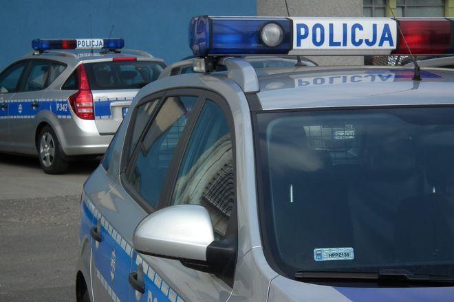 Policjanci zatrzymali dwóch pijanych rowerzystów. Jeden z nich był sprawcą kolizji, archiwum