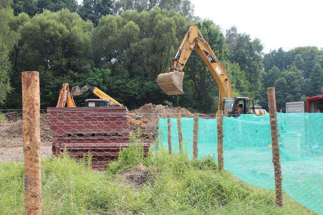 Prace budowlane na parceli przy ul. Podmiejskiej już się rozpoczęły