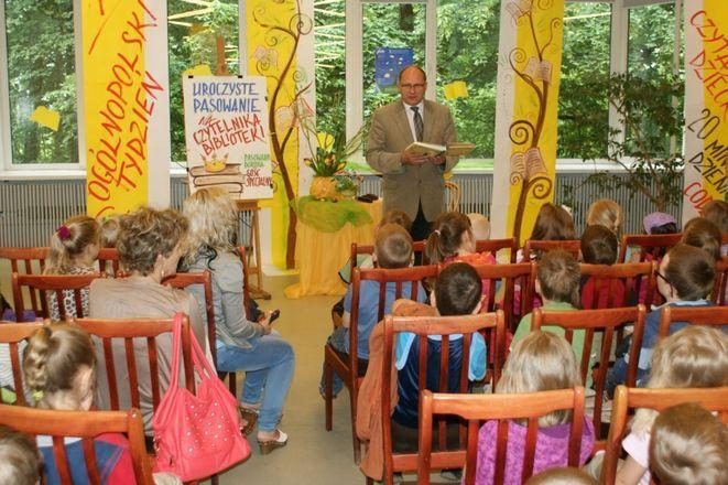 Za nami wielkie czytanie dzieciom, Materiały prasowe, źródło: www.jastrzebie.pl