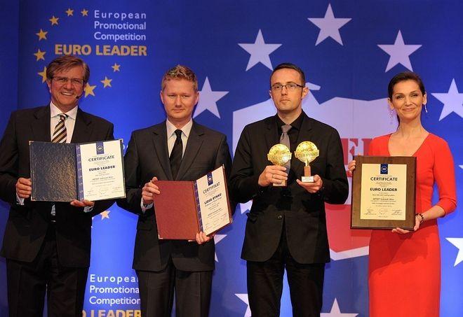 SerwerSMS.pl  z Jastrzębia z tytułem Lidera Roku, materiały prasowe