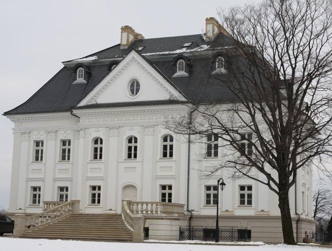 Pałac w Boryni po remoncie