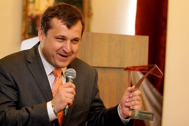 Piotr Piekarski - prezes firmy ''Acartus''