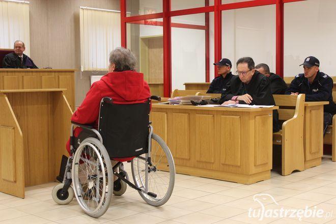 Dziś w sądzie zeznawała matka Dariusza P.