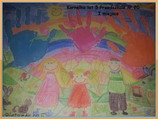 I miejsce - Kornelka, lat 5 z Przedszkola nr 20
