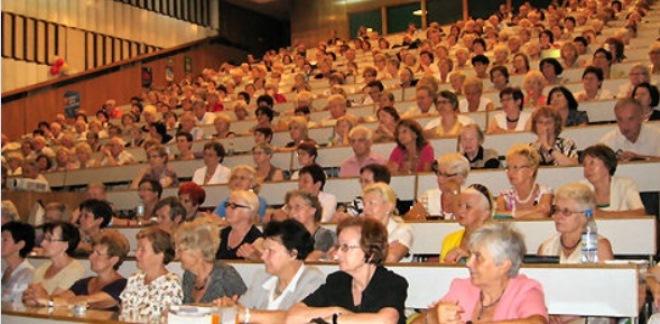 Wykłady w ramach UTW cieszą się dużym zainteresowaniem