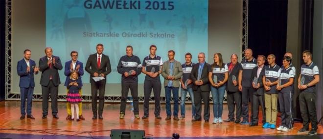 Zespół Szkół Mistrzostwa Sportowego nagrodzony siatkarskim Gawełkiem, materiały prasowe