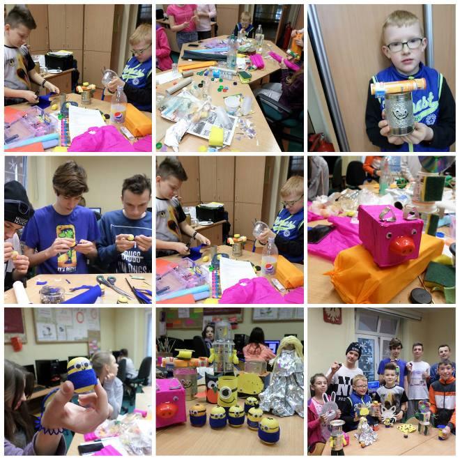 Podopieczni ZSS przy WSRdD zrobili zabawki ekologiczne, materiały prasowe ZSS przy Szpitalu