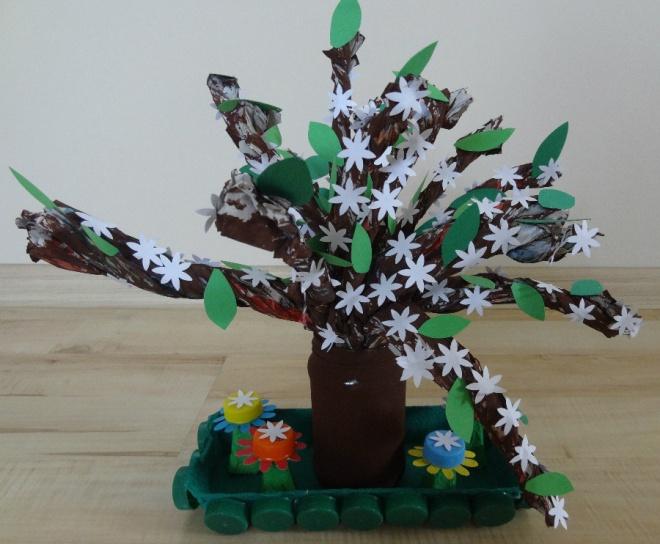 Mała artystka z Przedszkola nr 24 z wyróżnieniem w ekologicznym konkursie, materiały prasowe  PP 24