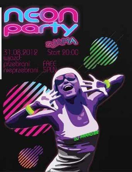 Neon Party już w piątek w Explozji, Materiały prasowe