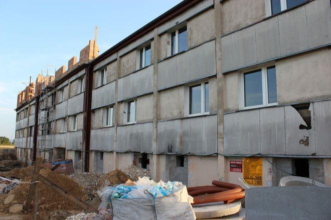 Mieszkania socjalne znajdują się przy ul. Gagarina