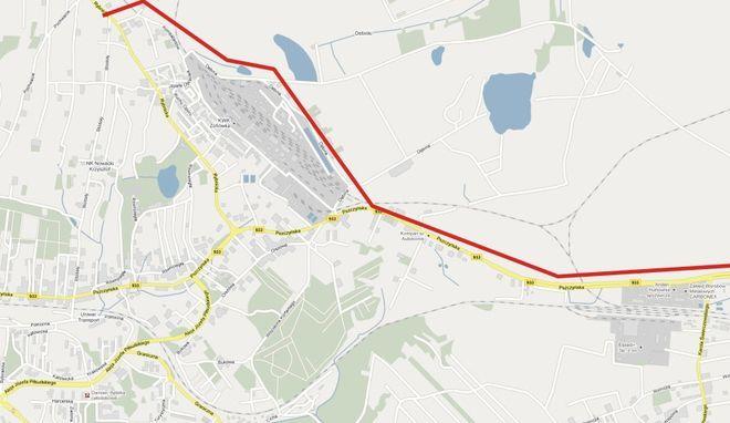 Pierwszy etap budowy Drogi Głównej Południowej w Jastrzębiu-Zdroju