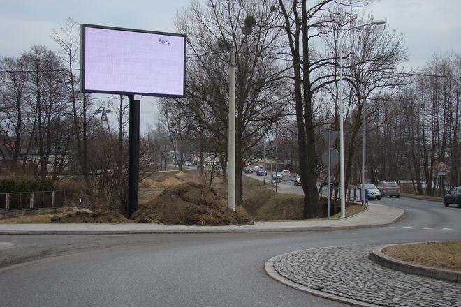 Na terenie Żor znajdują się tzw. ''e-witacze''