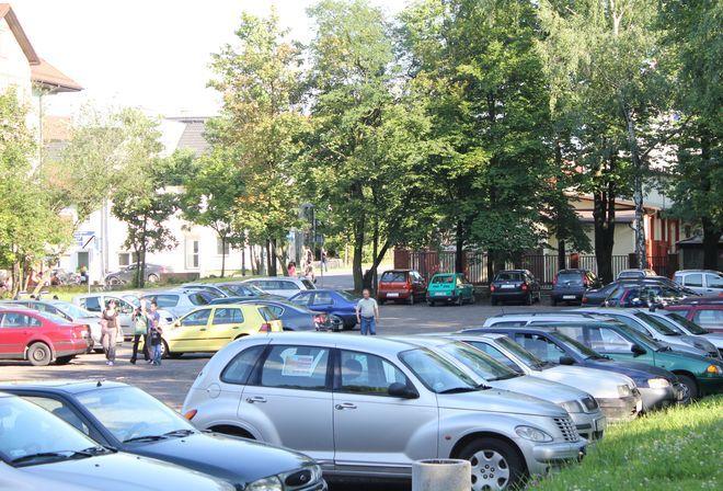 Rynek powstanie na miejscu aktualnego parkingu