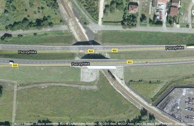 Miasto podpisało umowę na remont wiaduktu, www.maps.google.pl