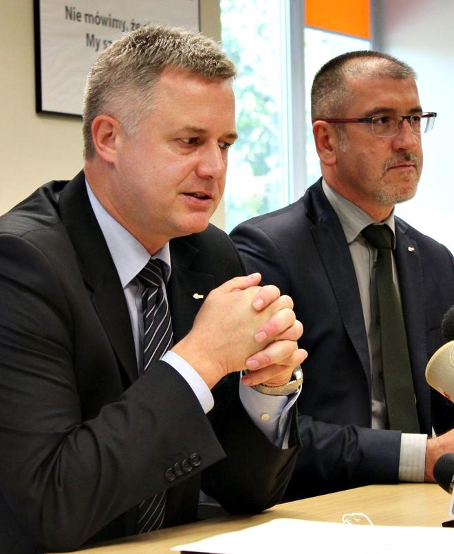 Jerzy Borecki (z prawej) będzie tymczasowo pełnił funkcję prezesa JSW
