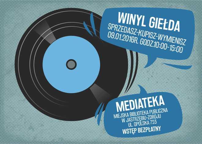 Miłośnicy czarnych płyt znów spotkają się w Mediatece, materiały prasowe MBP Jastrzębie-Zdrój