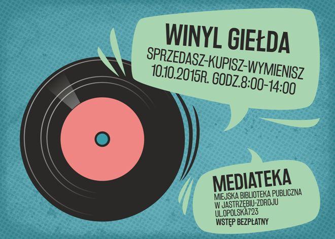 Lubisz winyle? Przyjdź do Mediateki! , materiały prasowe
