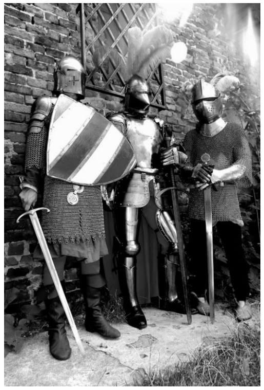 Zobacz wystawę średniowiecznej broni, materiały prasowe MOK