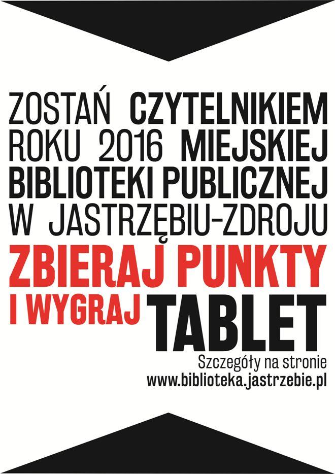 Zostań Czytelnikiem Roku i wygraj tablet! , materiały prasowe
