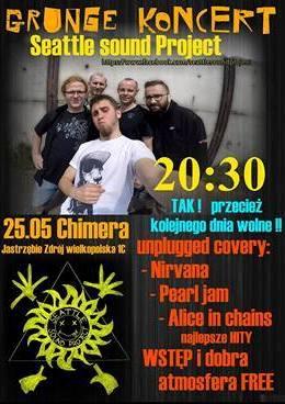 Koncert największych przebojów muzyki grunge w Chimerze, materiały prasowe Pub Chimera