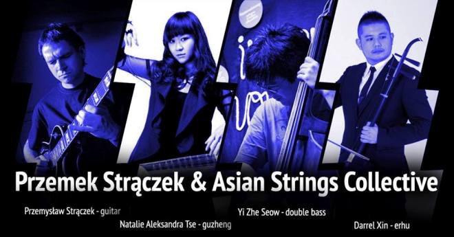 Przemek Strączek & Asian Strings Collective feat. Tomas Sanchez