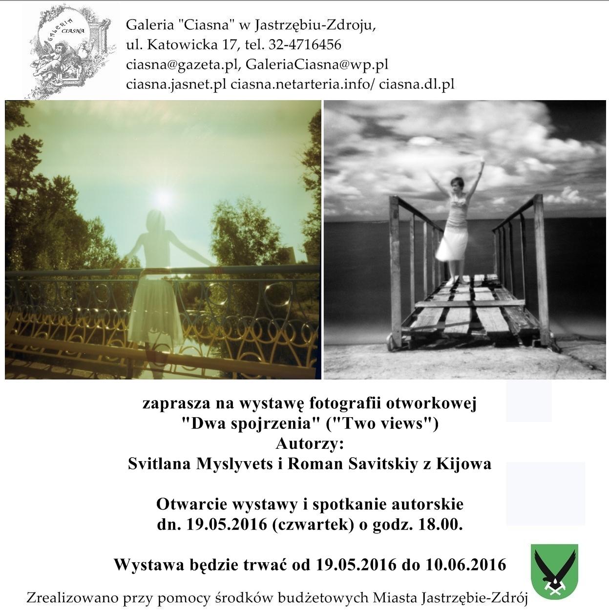 Fotografie otworkowe ukraińskich twórców w Galerii Ciasna, materiały prasowe Galeria Ciasna