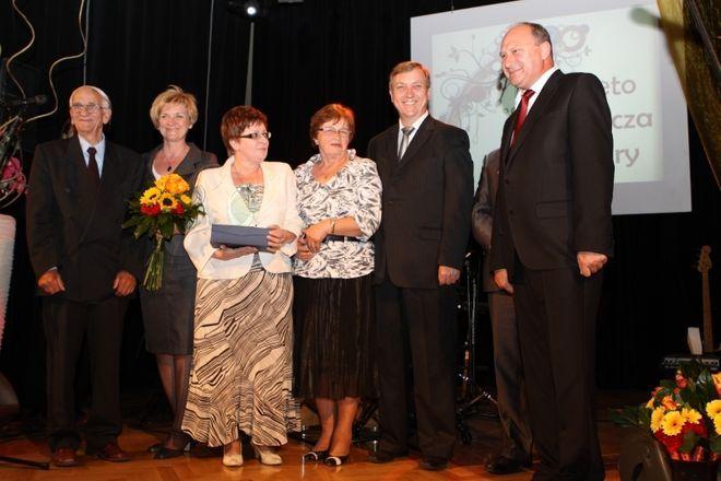 Chór ''Gloria'' i prezydent - Marian Janecki