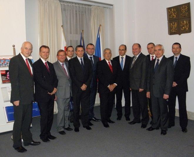 Jastrzębska delegacja z wizytą w Warszawie, UM w Jastrzębiu-Zdroju