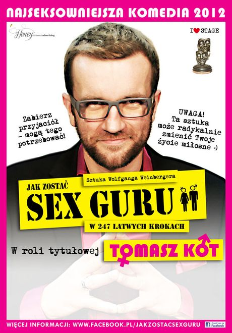 """""""Jak zostać sex guru?"""" – ta sztuka zmieni Twoje życie miłosne, Materiały prasowe"""