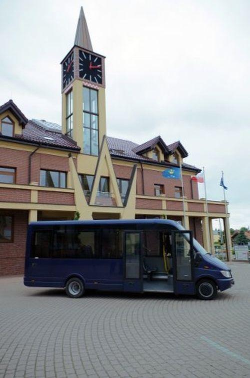 Wiemy jak wyglądają busy, które będą wozić za złotówkę, UG w Pawłowicach