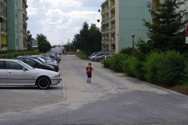 Parking przy ul. Górniczej
