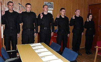 Policja ma nowych funkcjonariuszy, KMP w Jastrzębiu-Zdroju