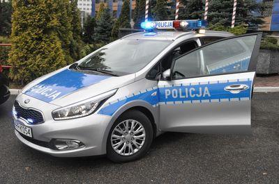 Policja ma nowy radiowóz, KMP w Katowicach