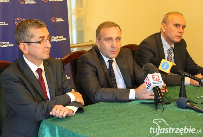 Grzegorz Schetyna przyjechał do Jastrzębia kilka dni temu