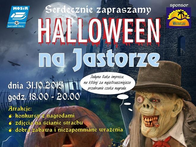 Spędź halloween na Jastorze. Impreza startuje o godz. 18:00