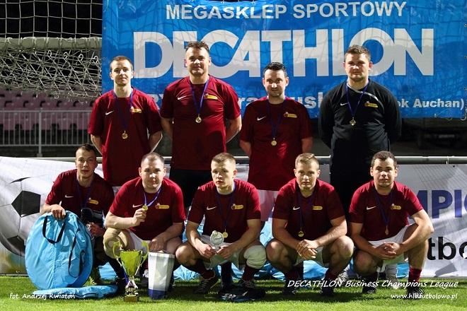 Biedronka Team zwyciężyła w rozgrywkach Business Champions League 2016