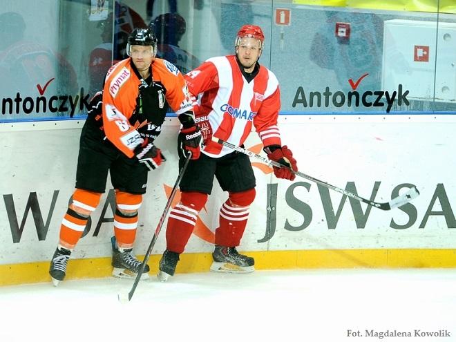 Po zaciętym pojedynku JKH GKS Jastrzębie przegrał w Krakowie z Comarchem Cracovia 2:3